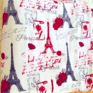 New Paris plush blanket from home goods